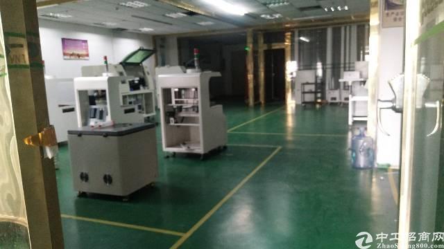 沙井后亭地铁站大型工业园新出装修厂房出租楼上680平,精装修-图2
