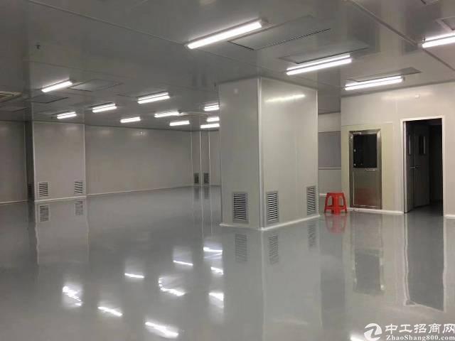 凤岗镇:楼上5200平无尘车间厂房业主直租。 配电:-图2
