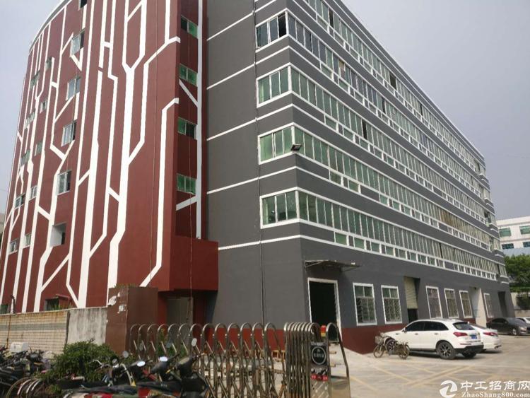 沙井松福大道附近新出独门独院一到五层12000平方厂房出租