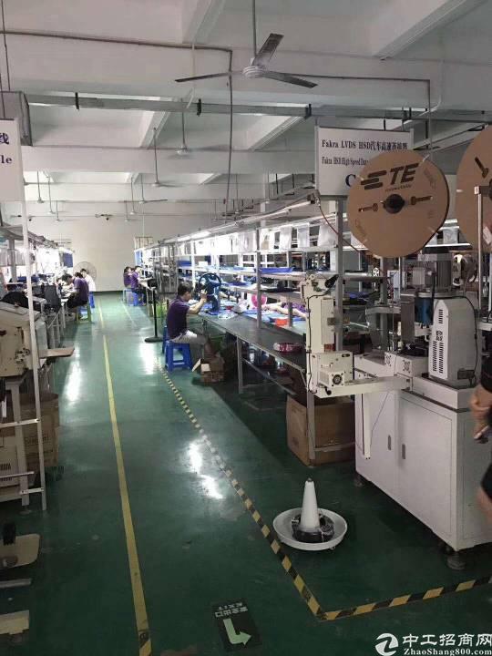 公明李松蓢大型工业园楼上厂房出租-图4