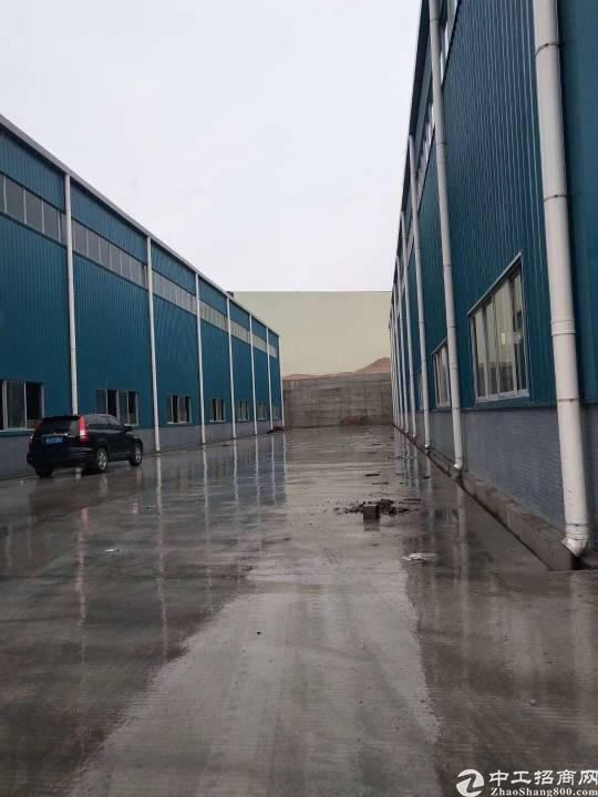 新出全新十米高单层重工业带牛角钢构厂滴水十米整租分租