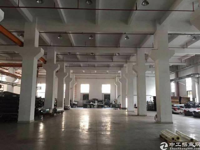 福永全新厂房一楼出租!