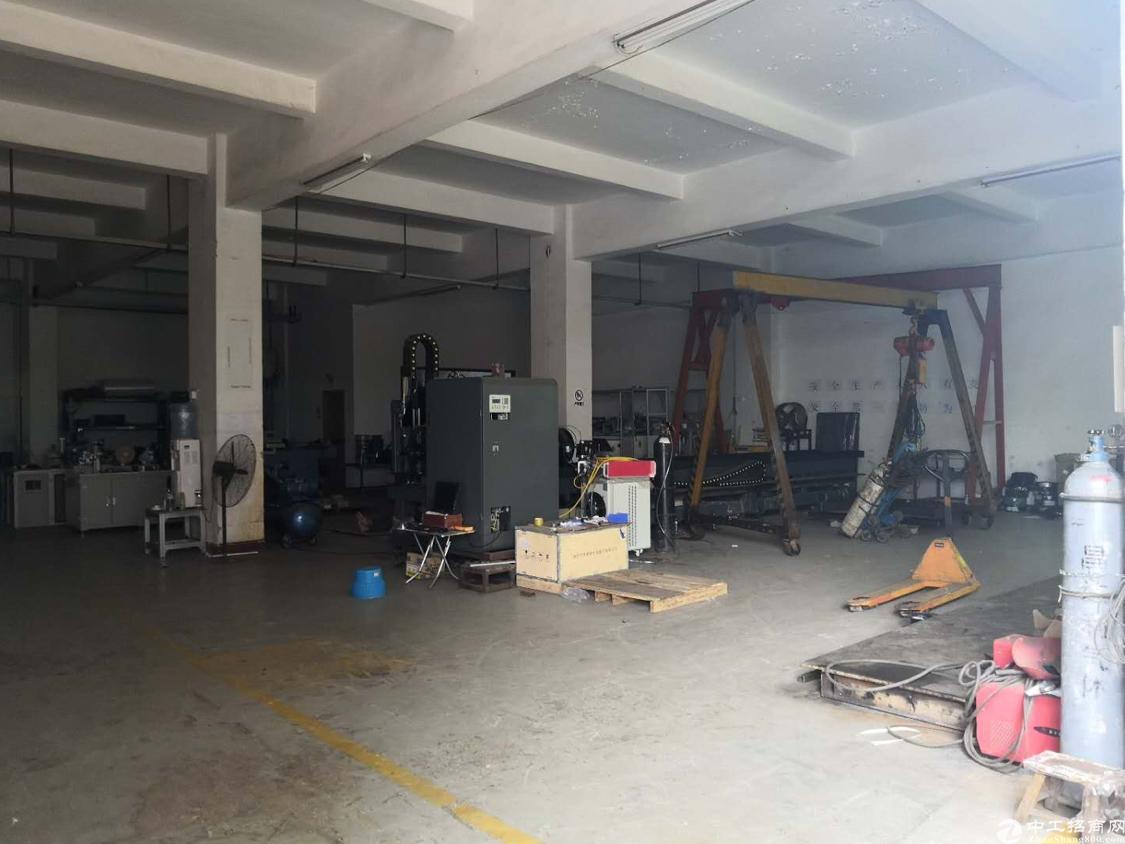 龙华天虹附近新出一楼580平,7.5成实用率,门口空地大