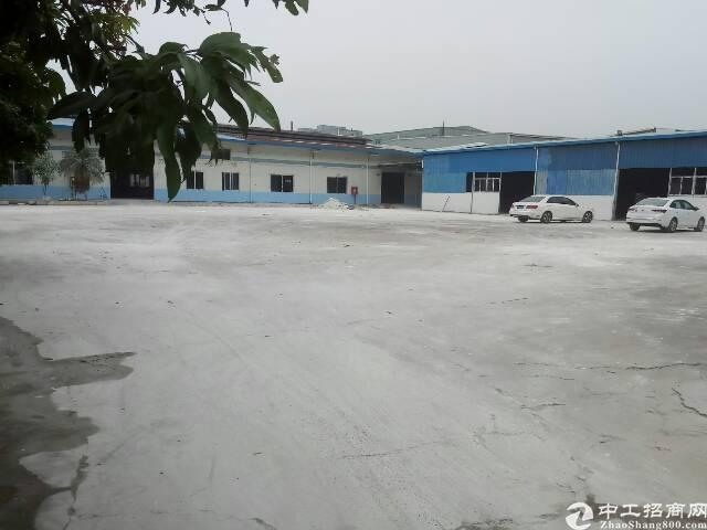 惠州新圩1楼520平方钢构小加工厂房招租
