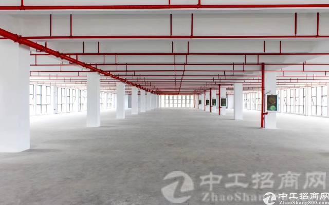 厚街赤岭靠近南城全新厂放楼上整层3500平带消防证,大小可分