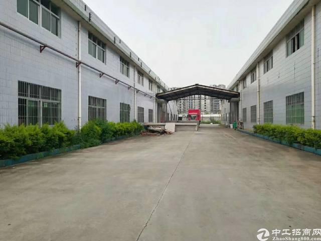 坪山区原房东红本钢构厂房2300平米招租~高12米