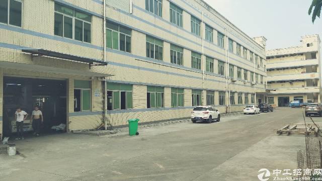 龙岗同乐大型工业区3000平厂房出租!