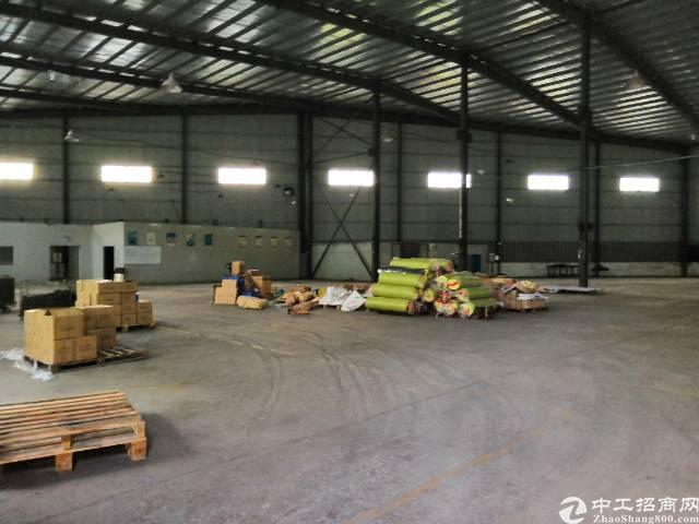坪山坑梓原房东滴水10米纲构厂房实际面积出租2300平米