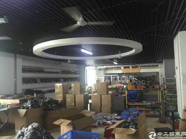 平湖原房东电商产业园三楼2600平米带豪华装修出租可分租急-图6