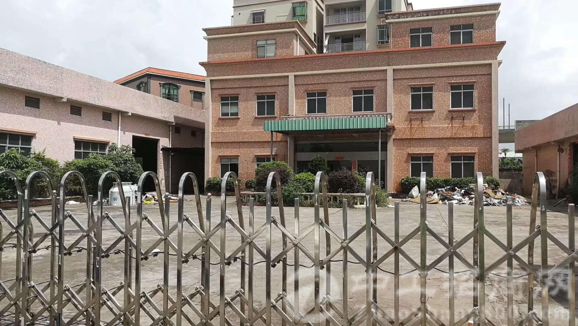 厚街镇新塘村现有原房东经典独栋厂房3300平米招租