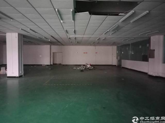 宵边 靠深圳楼上带装修厂房600平出租