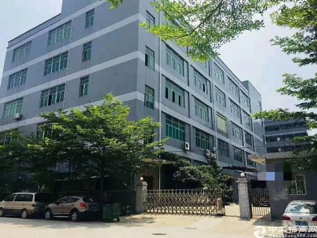 沙井芙蓉工业区1-5层厂房可分租