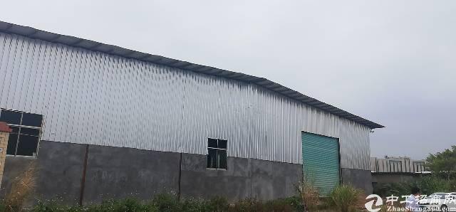惠州小金口工业区内独院2200平钢构厂房出租!