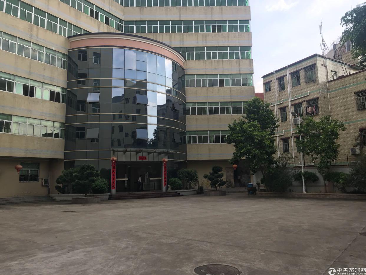 [横岗厂房]横岗安良二楼新出1500平米大小分租带消防喷淋厂