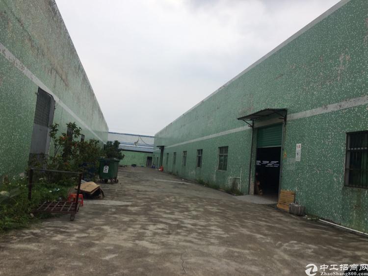 坪山坑梓秀新独门独院钢构厂房3200平米出租