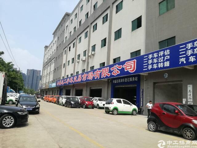 横岗惠盐路边厂房独栋每层1800平,原房东,现有办公室,