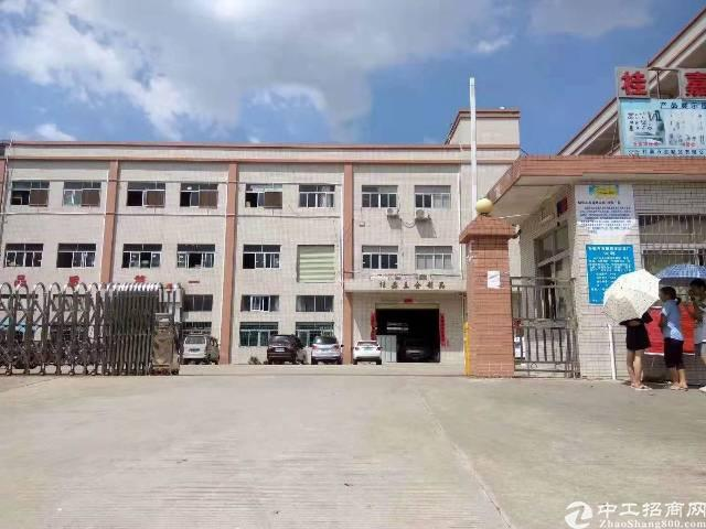 成熟工业区标准厂房出租二楼1800平方米价格实惠