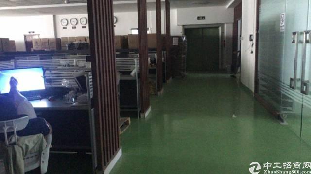 横岗四联社区新出大型工业园区楼上豪华装修厂房出租-图4