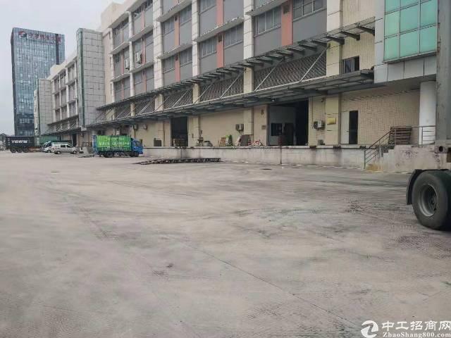 平湖带卸货平台厂房招租,主干道边,交通非常便利!