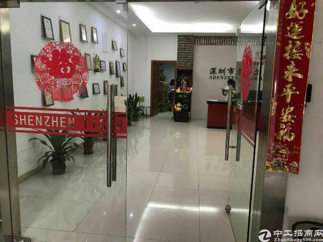 平湖华南城2060平米三楼有办公室装修!环境好!-图5