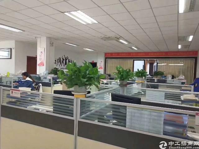 平湖华南城附近新出二楼1100平方带装修厂房招租