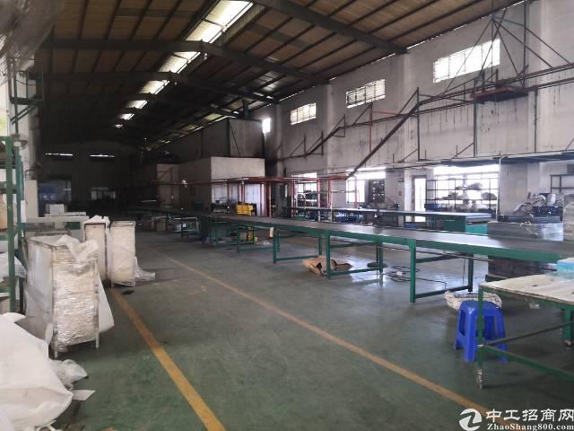 清溪靠山边独院钢构厂房总面积5200平方,厂房4000平方