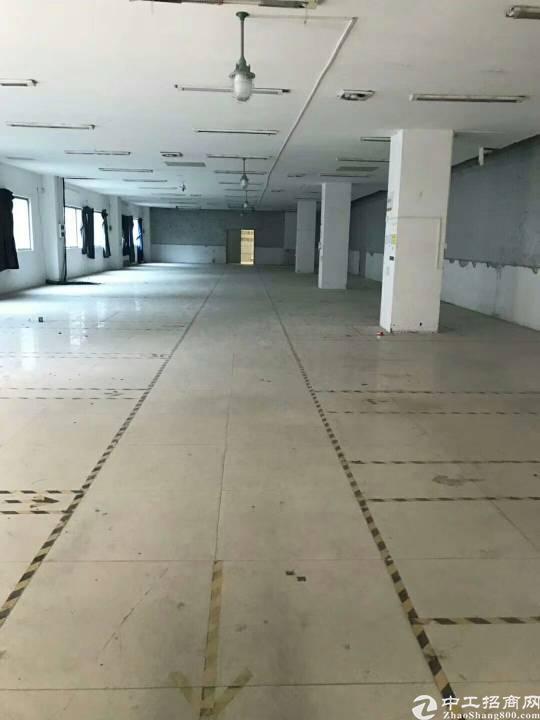 横岗六约新出楼上800平米厂房出租,