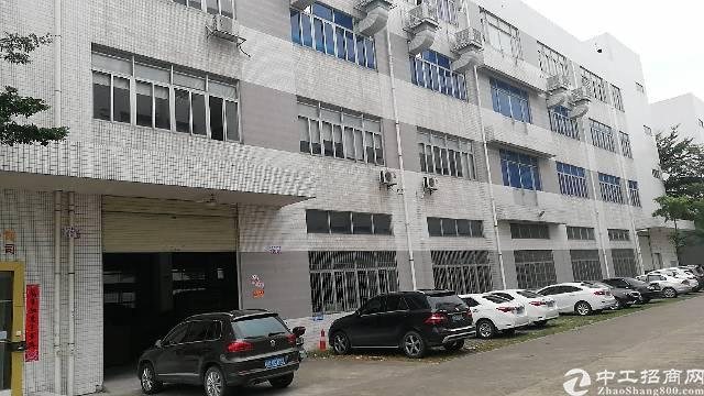 清溪镇原房东独栋标准厂房1-4层单层面积1500平方带喷淋