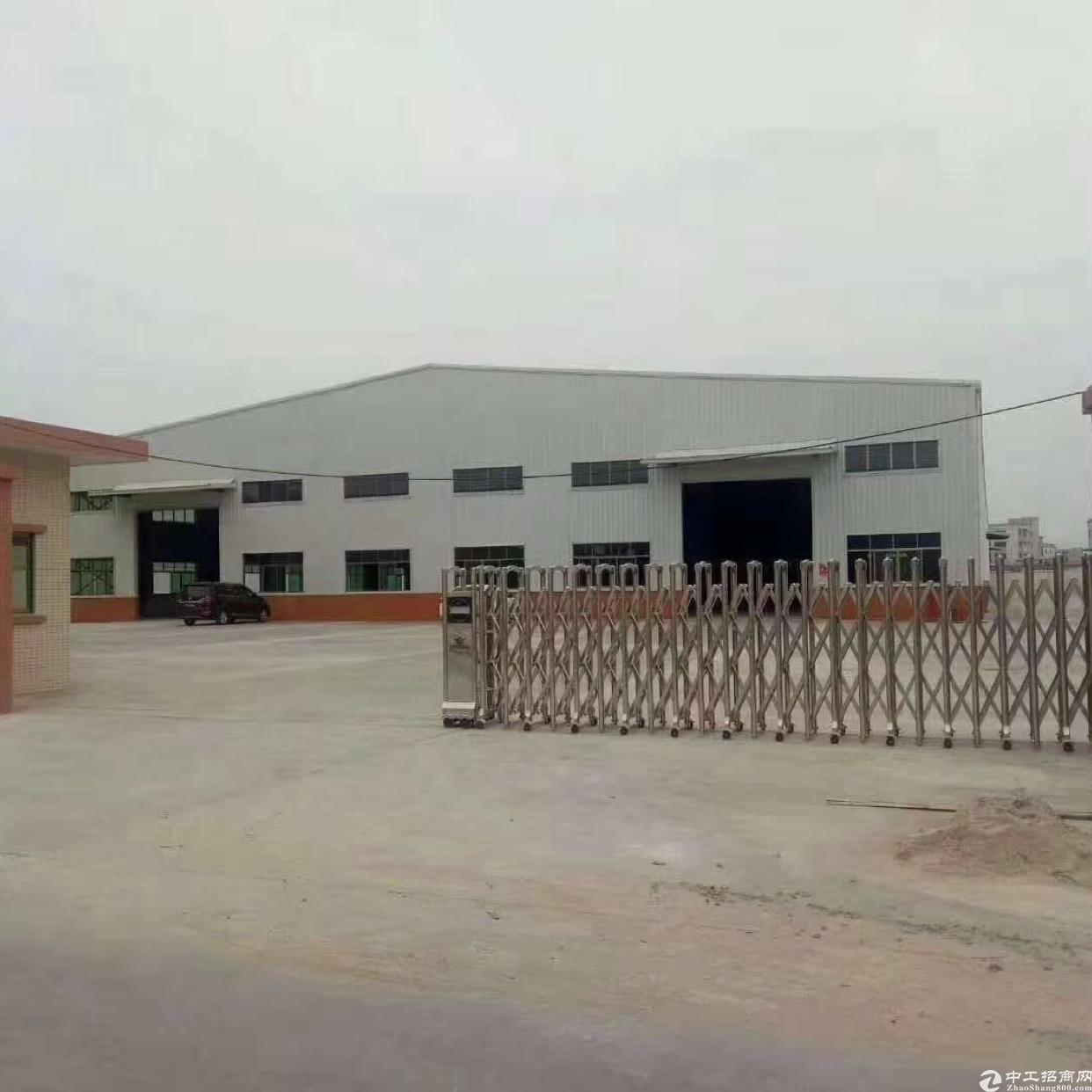 石湾镇成熟工业区带红本厂房招租