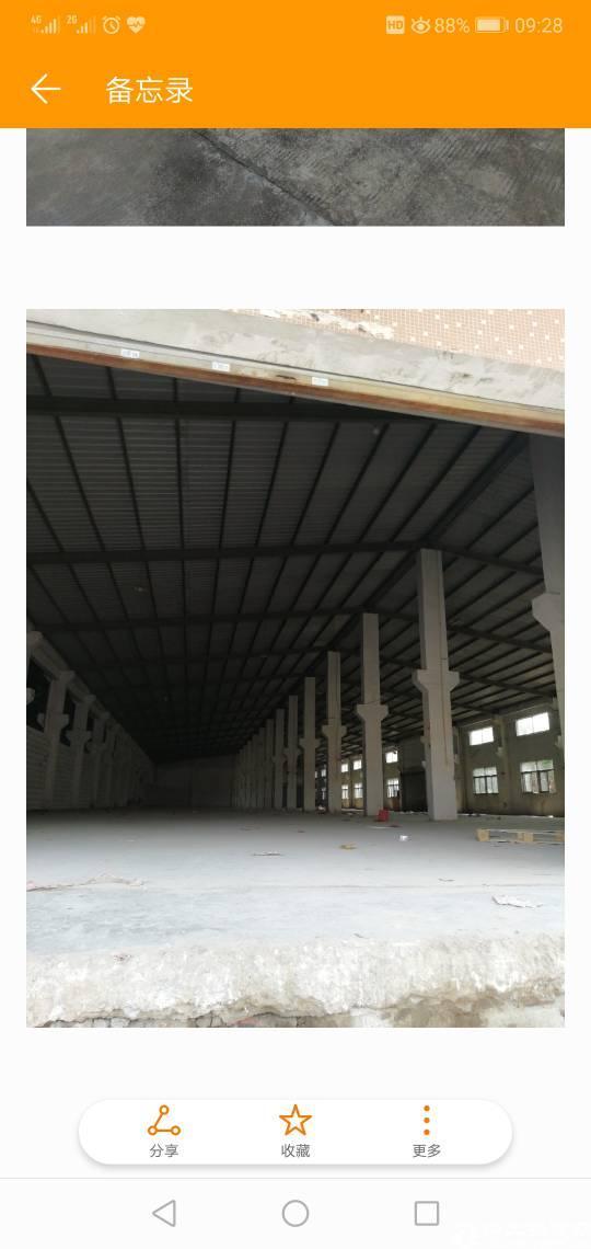 大工业区滴水12米钢构厂房7000㎡可分租