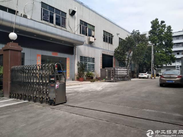 松岗大田洋附近新出一楼6米高带行车标准厂房400㎡-图2