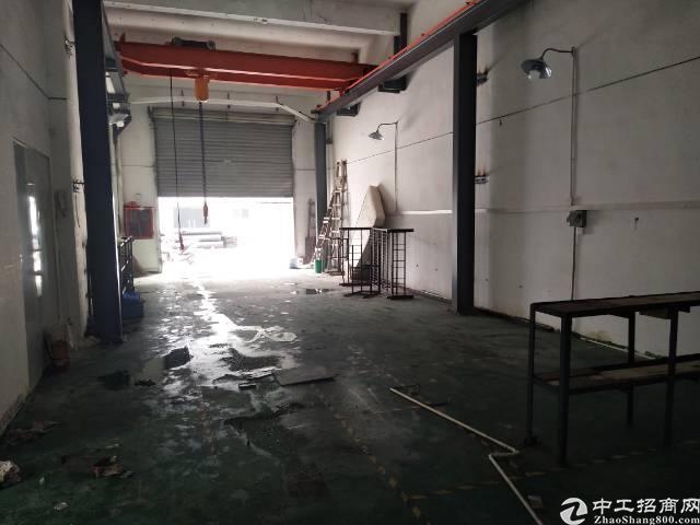 松岗大田洋附近新出一楼6米高带行车标准厂房400㎡-图3