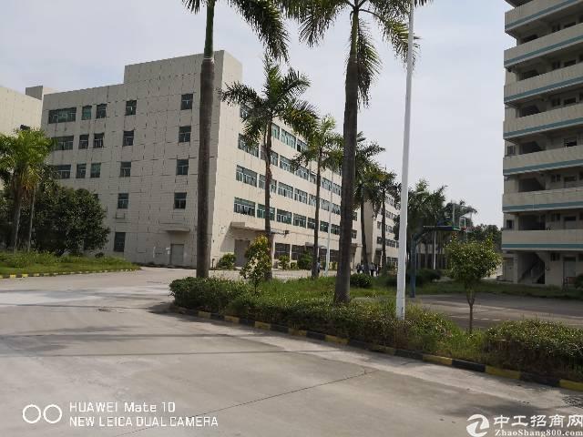 石岩南光高速口独栋厂房1-5层12000平米2400平米每层