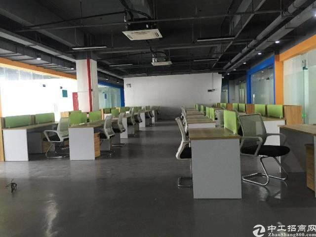 出租龙华观澜甲级科技园  1600平 可分租图片4