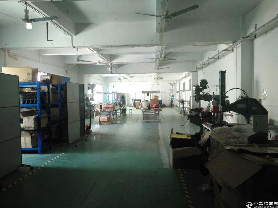 福永沿江高速附近新出楼上1000平方米带装修免转让费出租
