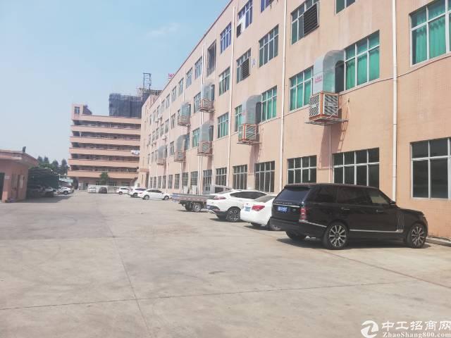 大岭山镇标准厂房一楼1300平带行车装修出租