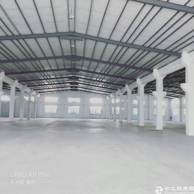 惠州高速口独院8米钢构5200平方带牛角厂房招租