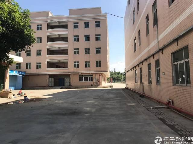 黄江镇靠近龙见田加油站附近新出独门独院标准厂房8000平方出