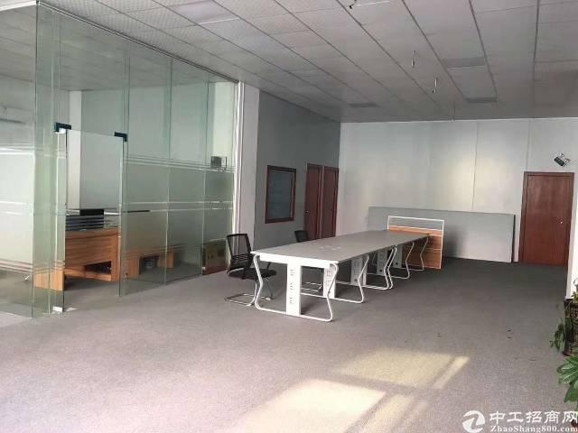 西乡黄田金碧工业区独门独院楼上空出400平米带装修出租