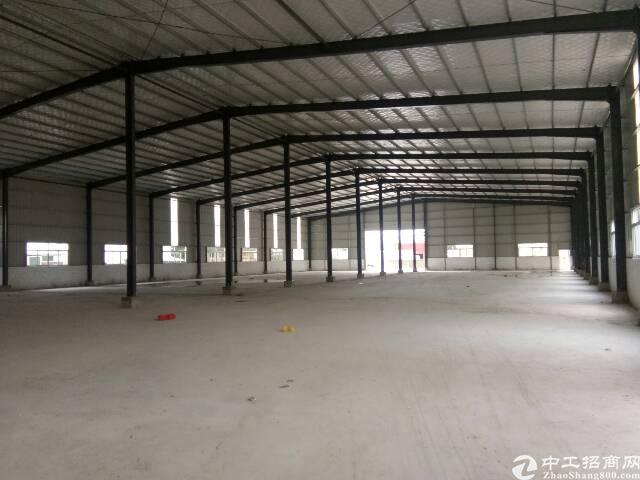 惠州市惠东白花全新独院钢构厂房3000,滴水7米