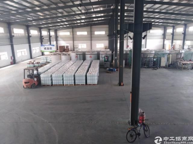 樟木头独院单一层钢构厂房4680平米,滴水10米带牛腿,