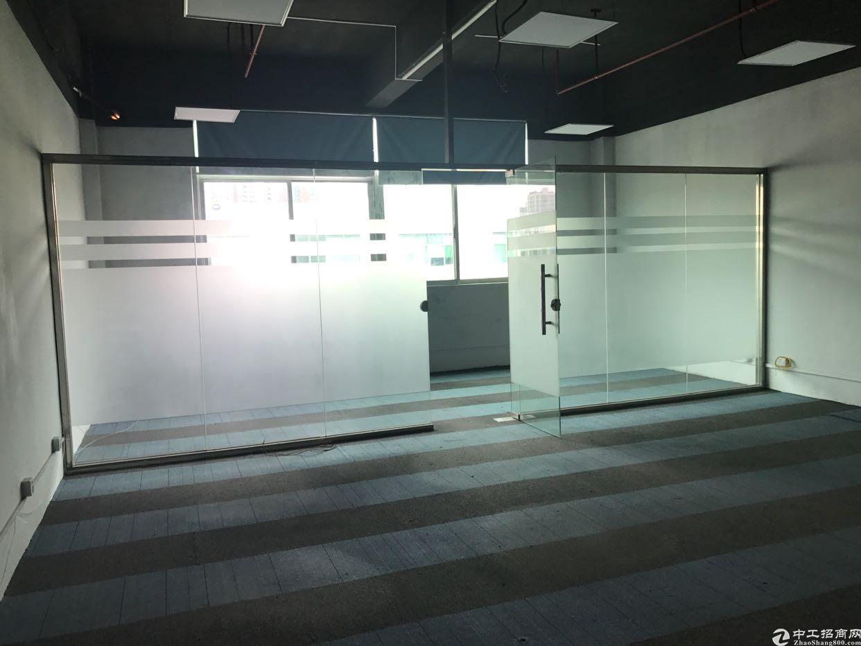 福永大洋田新出楼上精装修厂房420平 带办公家具