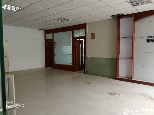 福永塘尾宝安大道边独院楼上整层1600平方带装修水电齐全