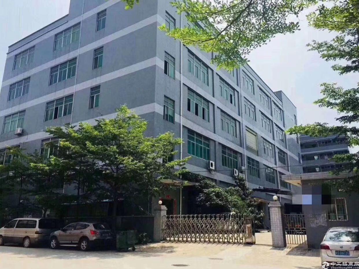 福永镇沿江高速出口楼上带装修800平厂房招租