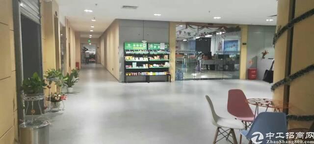 平湖原房东电商产业园三楼2600平米带豪华装修出租可分租急-图3
