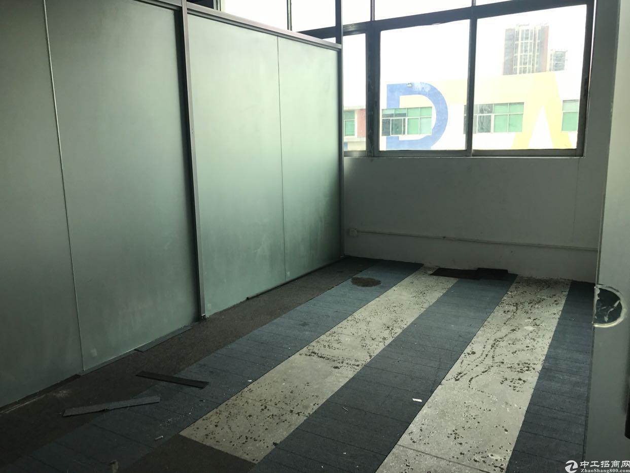 福永大洋田新出楼上精装修厂房420平 带办公家具-图4