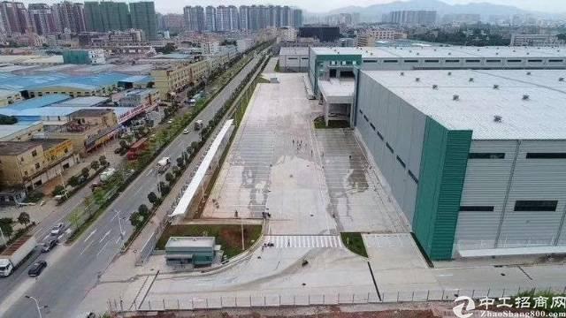 惠州靠深圳新出原房东物流仓库!高9米,带消防喷淋,卸货平台