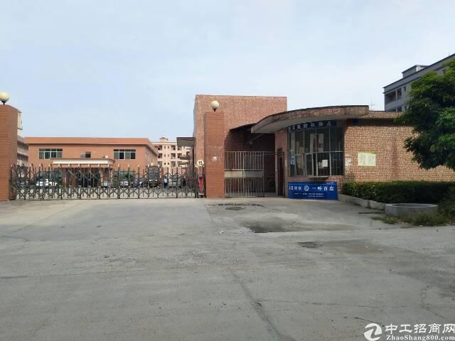 东部快线边上工业区原房东8成新独院砖墙到顶单一层厂房带现成水