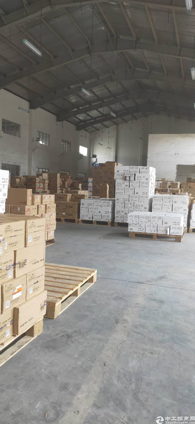 新出平湖标准物流仓库1200平方带卸货平台出租-图5