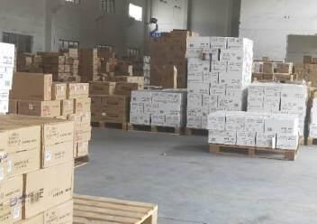 新出平湖标准物流仓库1200平方带卸货平台出租图片5